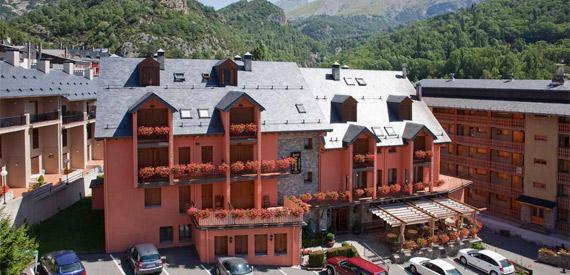 Hotel Sabocos en Panticosa, en plenos Pirineos